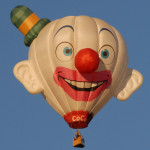 Meet CoCo the Clown-Special Shaped Balloon coming to this year's Festival