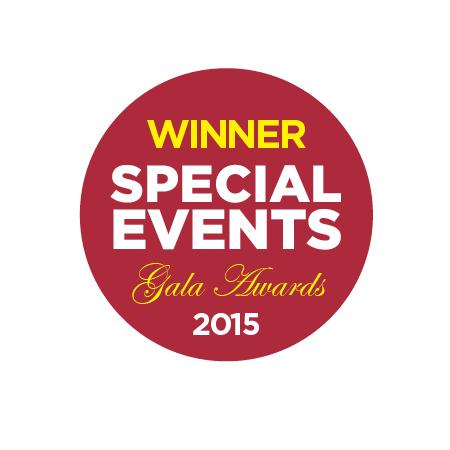2015 Gala Award Winner Emblem